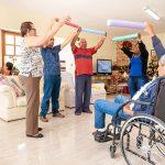 Exercícios em Clínica de Repouso