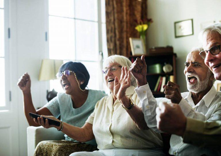 Idosos com Alzheimer